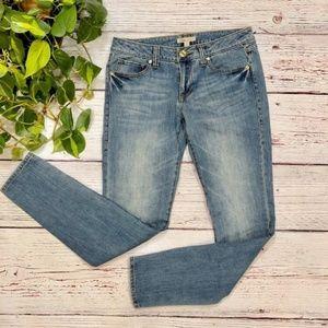{CAbi} Medium Wash Ruby Skinny Jeans, size 6